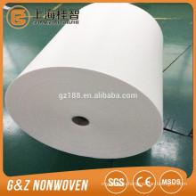 Waterproof spunlace 100% Polyester Spunlace Non Woven huge rolls