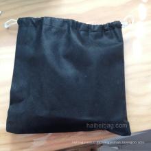 Sac en tissu à cordon pour bouteilles de shampooing (HBDR-61)