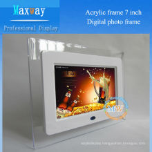 Acrylic frame 7 inch digital picture frame