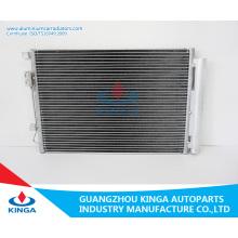 Condensador de enfriamiento para la selección D22 98 R12 de Nissan Fabricación de China