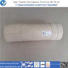 Bolsa de filtro no tejida de Aramid del colector de polvo para la planta de asfalto