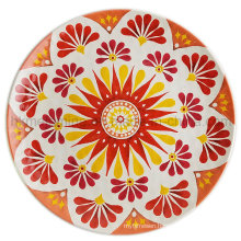 10inch Melamine Dinner Plate with New Design (PT196)
