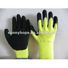 Sunnyhope billig Winter Latex Strick Arbeit Handschuhe