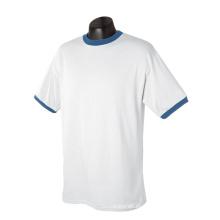 Algodón orgánico Racing No Brand Jersey Ringer camiseta
