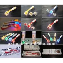 popular led light roller dermal roller anti aging dr roller