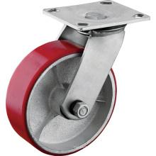 Heavy Duty Polyurethane Cast Iron Core Wheels