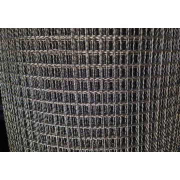 Stainless Steel Double Crimped Wire Mesh