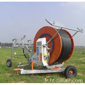 Farms Applicable Industry Tuyau flexible Irrigation Machine