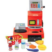 Juguete eléctrico de caja de registro de juego de juguete jugar (h0009394)