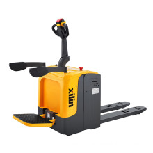 Xilin Battery Operated Pallet Truck 2.5 Ton 2500KG Stand-on Type Electric Pallet Truck Price