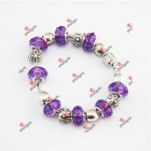 Fashion Purple Charmilia Bracelet en verre Bracelet Cadeaux en bijoux (ALK60229)