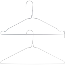 Shirt Hanger 1.9mm Steel Hangers For Clothes