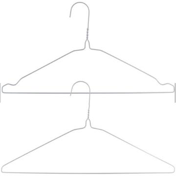 Cabide para camisas de aço de 1,9 mm para roupas