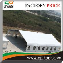 Décoration spéciale mariage evenement tente flanc de tente avec pvc blanc ou fenêtres transparentes