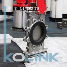 Заменяемый резиновый седло заслонки типа Knife Запасное резиновое седло ANSI EN DIN as