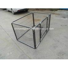 Cage en métal Animal House Dog Crate Four Side