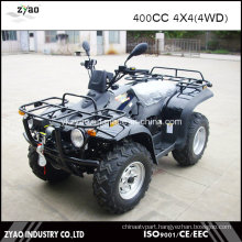 400cc Dirt Quad 4X4 ATV with Winch