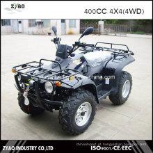 400cc Dirt Quad 4X4 ATV com guincho
