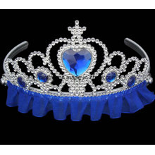 Kids Plastic Tiaras Wholesale Fashionable Kids Princess Tiara