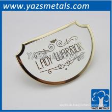 maßgeschneiderte Metall LADY WARRIOR Zubehör, Metall Handtasche Zubehör
