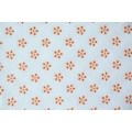 100% Polyester Flower Type Kunststoff Dots Stoff