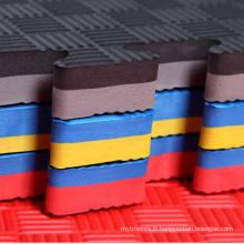 Linyi usine en gros tapis de sol sport EVA taekwondo tapis à vendre
