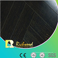 Commercial 12.3mm E1 Mirror Walnut Waterproof Laminated Flooring