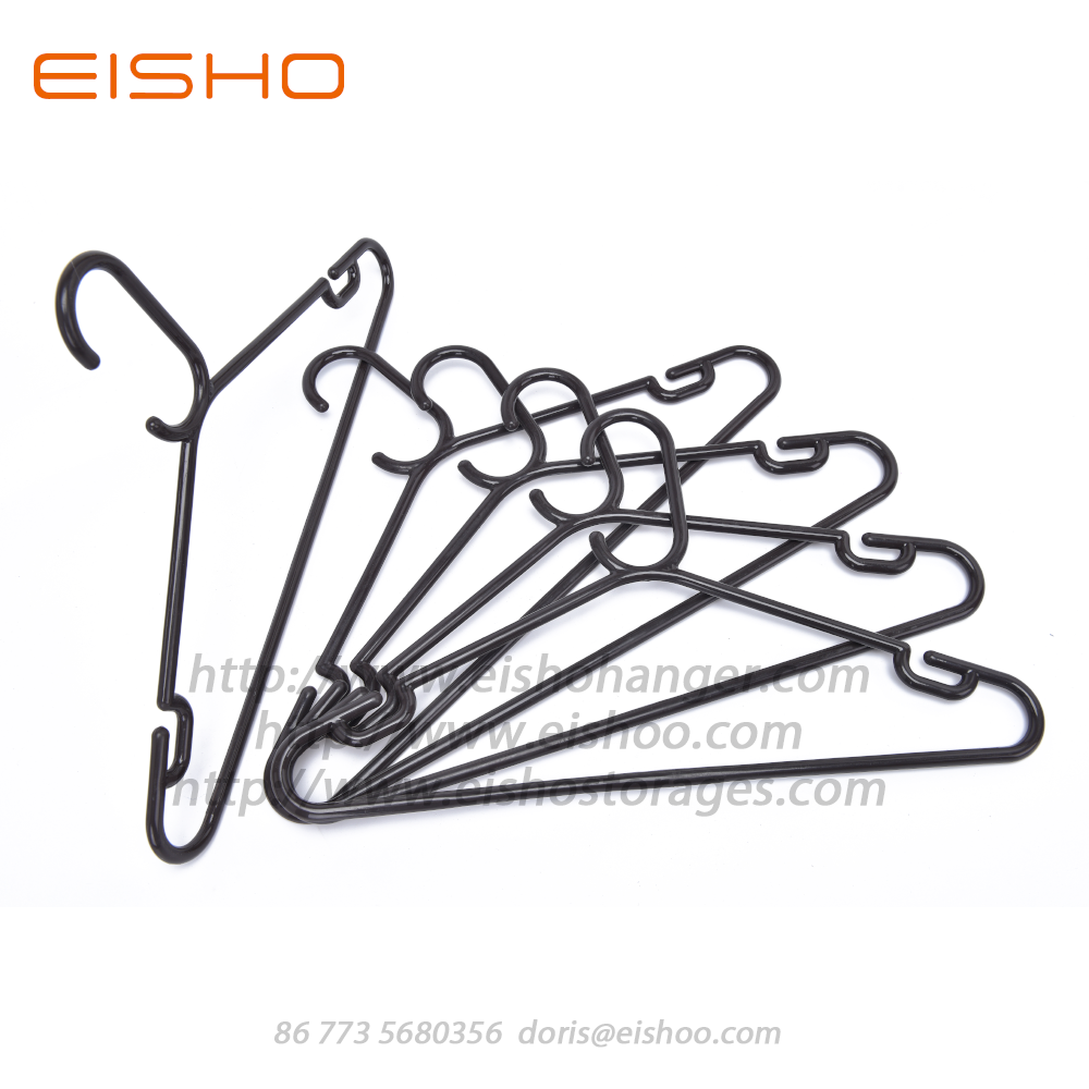 Ps6318 Black Plastic Hanger 2
