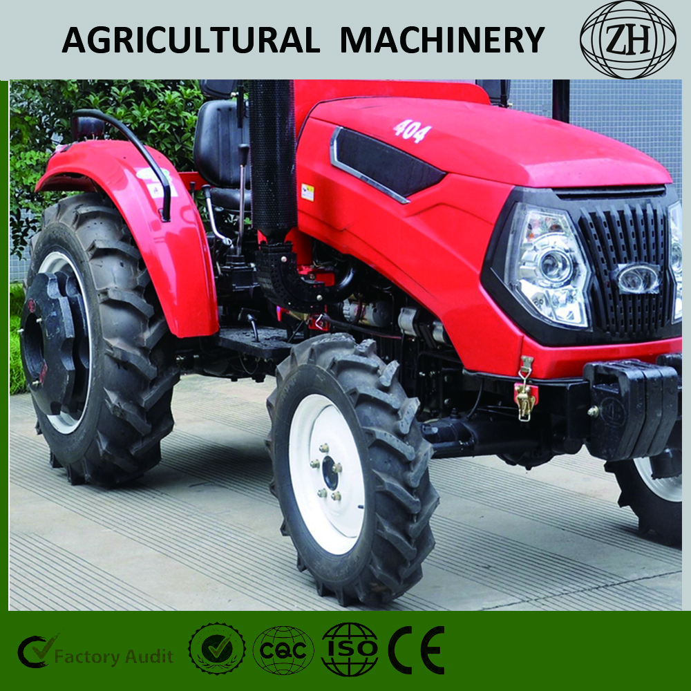 Agricultural 4WD 40HP 404 Wheeled Farm Tractor
