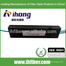 Paquete óptico del ABS del divisor óptico de la fibra 1 * 2 OM3 / OM4 FBT de la alta calidad