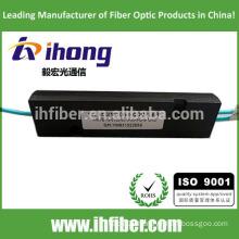 High quality 1*2 Multimode OM3/OM4 FBT fiber Optical splitter ABS Package