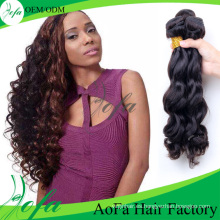 Extensión del cabello humano de la onda del cuerpo Pelo brasileño de la Virgen al por mayor sin procesar del 100%