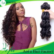 Расширение Волос Человека Объемной Волны 100% Необработанные Оптовая Виргинские Бразильского Волос