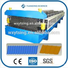 CE del paso y YTSING-YD-0610 de la ISO Rodillo de la capa doble del control automático que forma la máquina