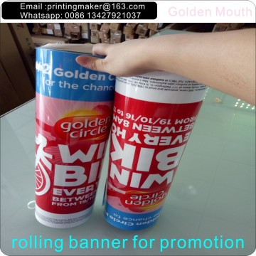 Long Thin PP Banners and Vinyl Banner Signs