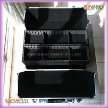 Crocodile PVC Aluminum Beauty Cosmetic Case (SACMC111)