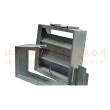 1.2mm Galvanized Steel Vane Damper Molding Machine Supplier Saudi Arabia