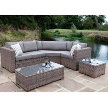 Meubles en osier de rotin salon Sofa Set jardin Patio