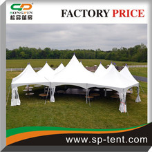 Pavilion Marquees Tent connected by rain gutters composing of any shape