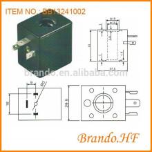 Diámetro de orificio 13mm Bobina neumática DC 12v Solenoid