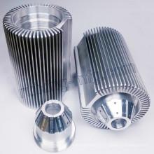 Aluminio sacado a máquina modificado para requisitos particulares LED que enciende el disipador de calor
