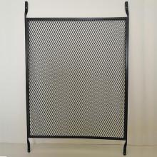 Durable expanded metal guards pet door screen