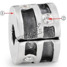 Gets.com zinc alloy doberman dog clip charm