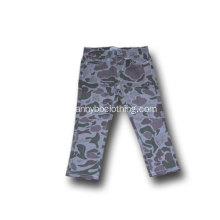 fashion kids boys grey camo pants