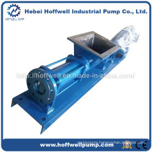 CE Approved G Series Single Screw Slurry Pump
