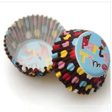Fabricación de pastel de embalaje de calidad alimentaria con diseño personalizado