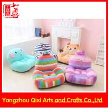 Último sofá sofá de lana de coral suave sofá de bebé silla de peluche animal lindo niños sofá del niño