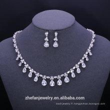 Bijoux en argent uniques ensembles bijoux en gros