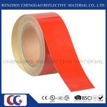 Fita de cautela reflexiva da classe comercial vermelho para andar (C1300- ou)