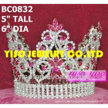 Runde Schönheitswettbewerb Krone